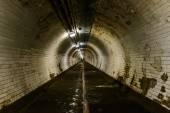 Greenwich foot tunnel — Stock Photo