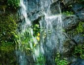 Small Nepal waterfall — Stock Photo