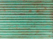 Green iron curtain — Stock Photo