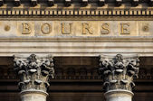Paris stock exchange — Stock Photo