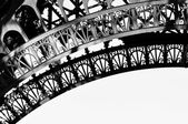 Eiffel Tower detail — Stock Photo