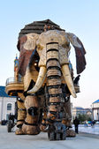 The Great Elephant  in Nantes — Stock Photo