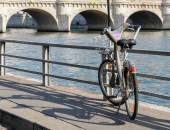 A Velib' in Paris, France — Stock Photo