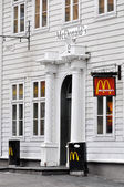 McDonald's restaurant in Bergen, Norway — Stock Photo