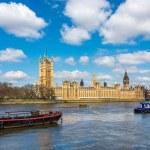 Domy Parlamentu w Londynie — Zdjęcie stockowe #70572403