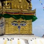 Swayambhunath stupa in Kathmandu — Stock Photo #70578471