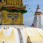 Swayambhunath stupa in Kathmandu — Stock Photo #70578561