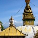 Swayambhunath stupa in Kathmandu — Stock Photo #70578659