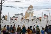 Nepal earthquake in Kathmandu — Stock Photo