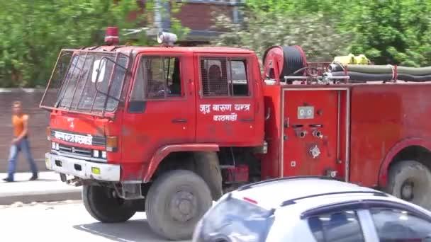 Terremoto de Nepal en Katmandú — Vídeo de stock