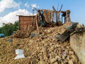 Kot Danda village after earthquake — 图库照片
