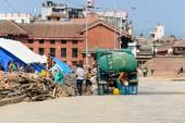 Terremotos de Nepal — Foto de Stock
