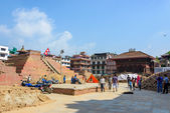 Nepal earthquakes — ストック写真