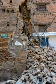 Nepal earthquakes — Stock Photo