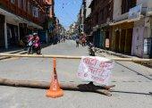 Nepal earthquakes — Stock Photo