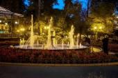 Oděsa, Ukrajina - 15 října 2014: Park kultury a odpočinku v — Stock fotografie