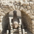 Old canon at an Ottoman fort — Stock Photo #59803325