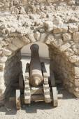 Old canon at an Ottoman fort — Stock Photo