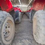 Closeup of ATV tyres in a row — Stock Photo #61469759