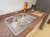 Design interiéru kuchyně luxusní byt — Stock fotografie