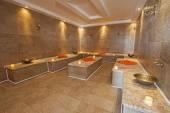 Interior of Turkish baths in health center — Stock Photo