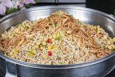Oriental koshery at a hotel restaurant buffet — Stock Photo