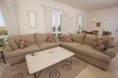 Living area interior of a luxury villa — Stock Photo