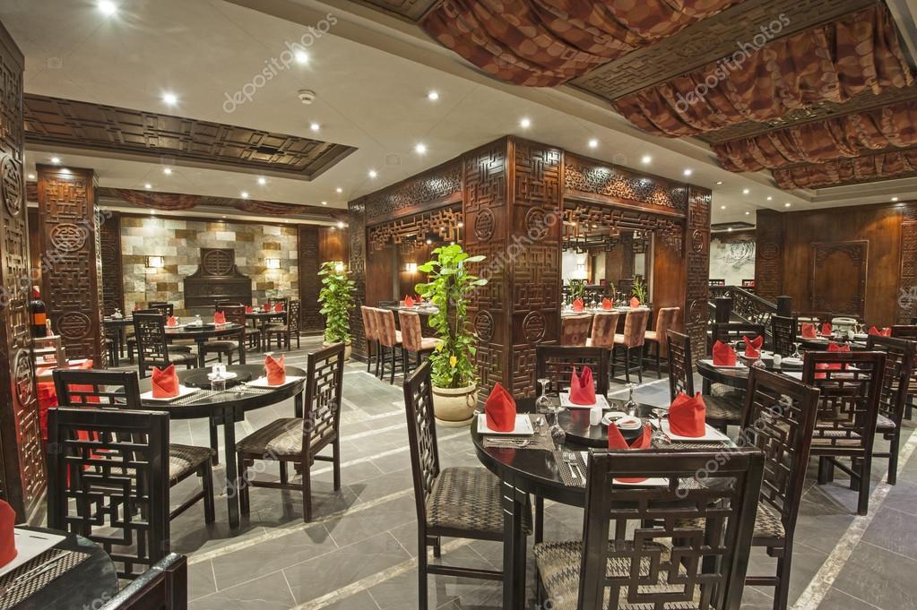 Int rieur d 39 un restaurant d 39 h tel de luxe photographie - Interieur hotel de luxe ...