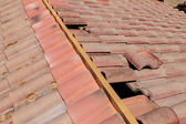 Roof renovation — Stock Photo