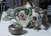 Open engine — Stock Photo