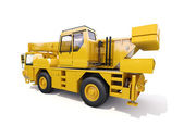 Truck Mounted Crane — Stock Photo