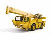 Truck Mounted Crane — Stock Photo