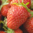 Garden strawberries close-up — Stock Photo #58339743