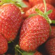 Garden strawberries close-up — Stock Photo #58339817