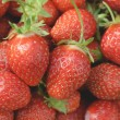 Garden strawberries close-up — Stock Photo #58339871