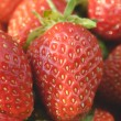 Garden strawberries close-up — Stock Photo #58339911