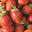 Garden strawberries close-up — Stock Photo #58339957