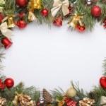 Christmas frame — Stock Photo #59417589