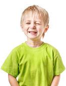 Boy smile — Stock Photo