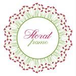 Floral Frame — Stock Vector #80413376