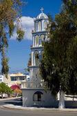 Orthodox Church in Kamari. — Stock Photo