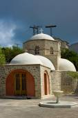 Monastery Profitis Ilias. — Stock Photo