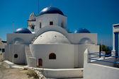 Orthodox Church in Thirassia village. — Stock Photo