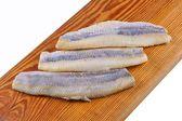 Flaps of herring — Stock Photo