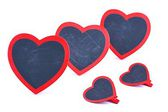 Heart, wooden plaque in the shape of heart, Valentine's Day — Stock Photo
