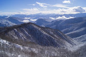 The majestic mountain scenery of the Caucasus Nature Reserve — Stock Photo