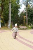 Retrato de un niño lindo — Foto de Stock