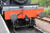 Steam Train Engine. — Stock Photo