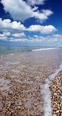 The beach, sea and sky — Stock Photo
