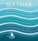 Sea Fever — Stock Vector